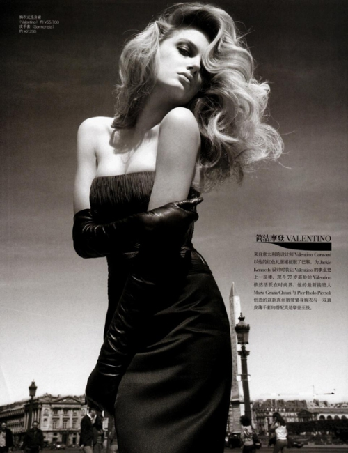 Lily Donaldson by Patrick Demarchelier3