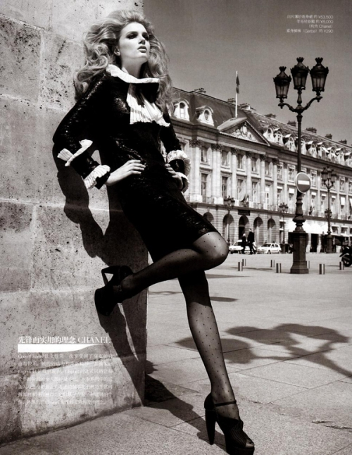 Lily Donaldson by Patrick Demarchelier4