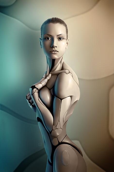 robot puppet women Robot Puppet Women