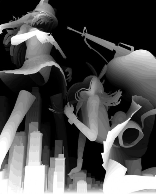 Kazuki Takamatsu 4 600x746 Gouache CGI Paintings by Kazuki Takamatsu