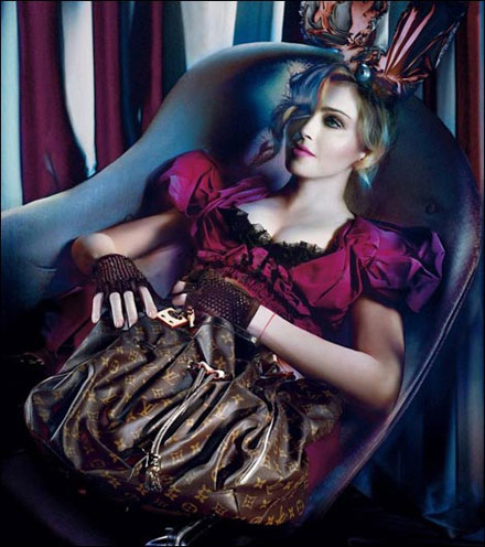 madonna louis vuitton fall winter 2009 2010 ad campaign Leaked Madonnas New Louis Vuitton Ad Campaign